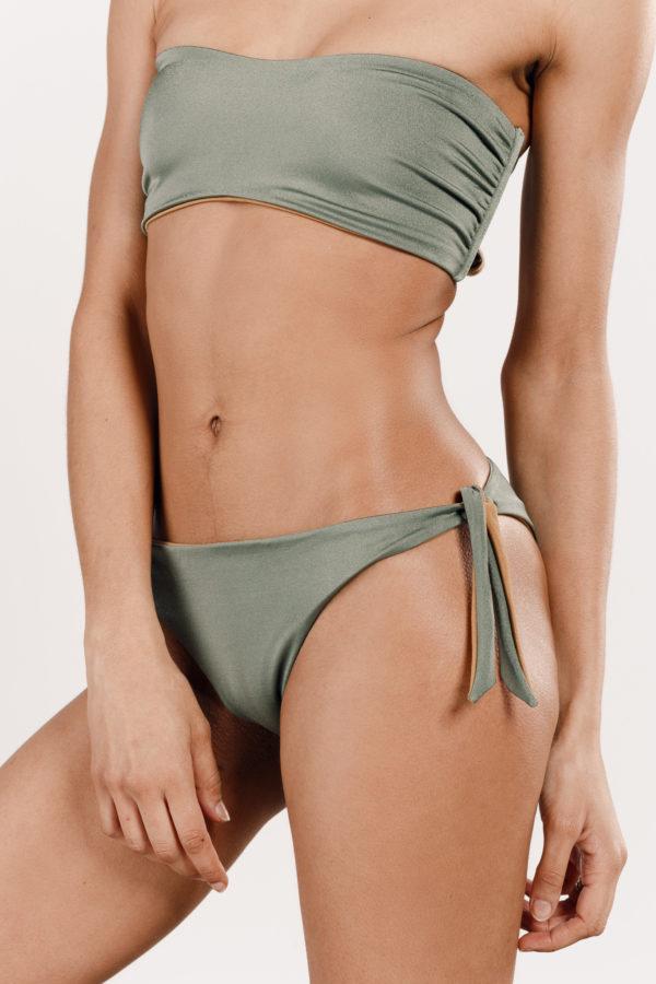 Bas bikini à noeuds