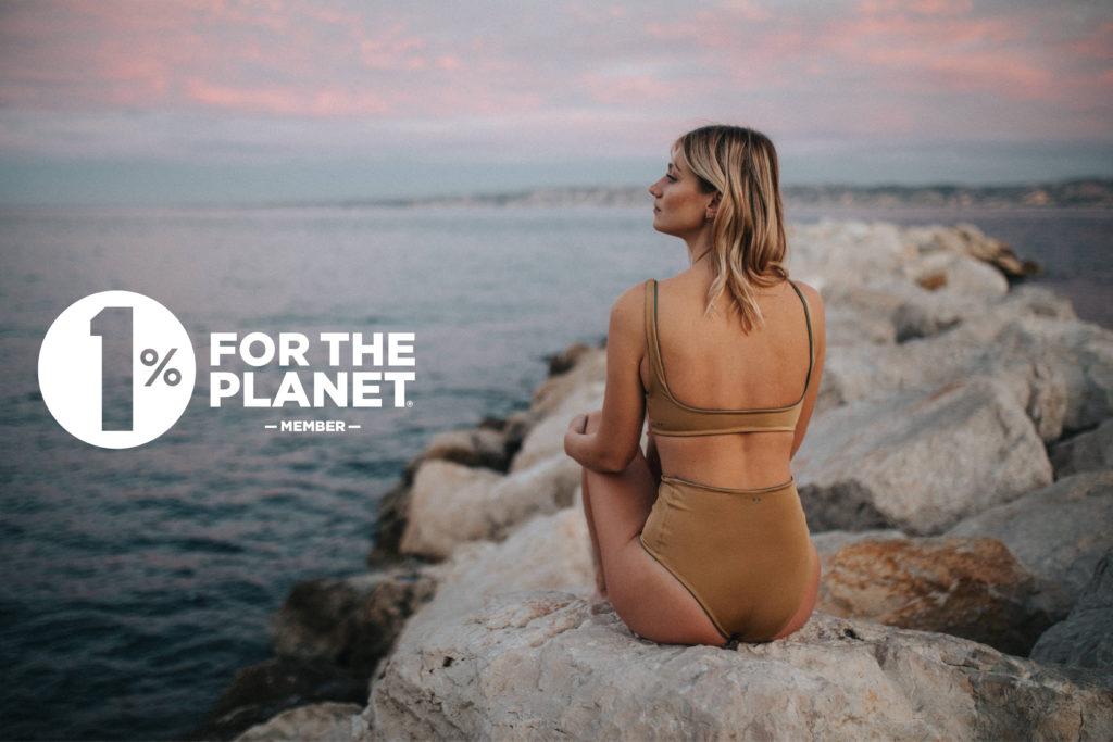 LILNA Swimwear partenaire 1% For the planet